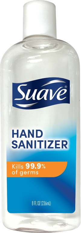 Hand Sanitizer 8oz Front of Pack