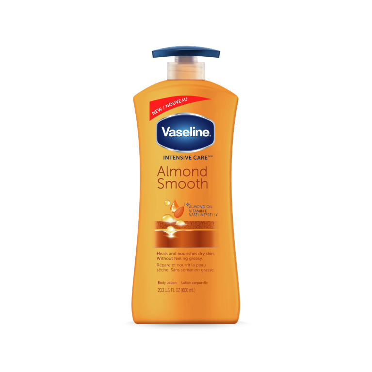 Vaseline® Intensive Care™ Almond Smooth Lotion Front of Pack