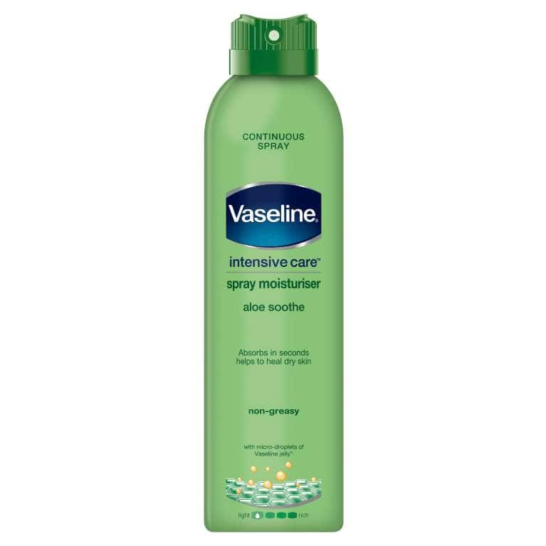 Vaseline Intensive Care Aloe Soothe Spray Moisturiser 190 ML