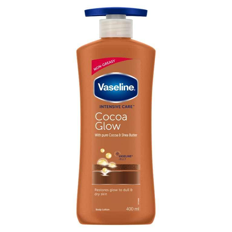 Vaseline Intensive Care Cocoa Glow Lotion 400ML