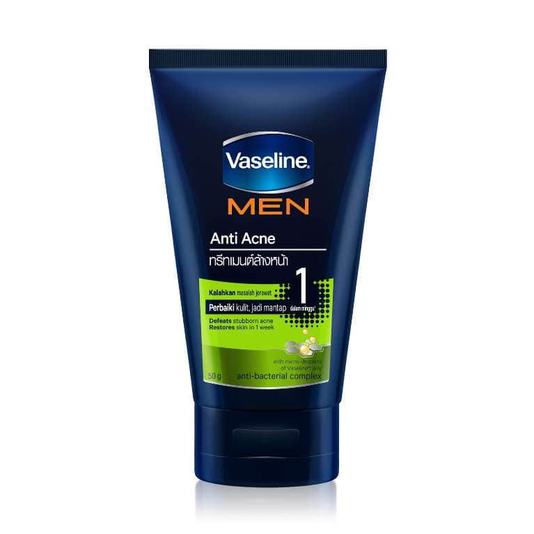 Vaseline® Men Face Anti-acne Face Wash 50g