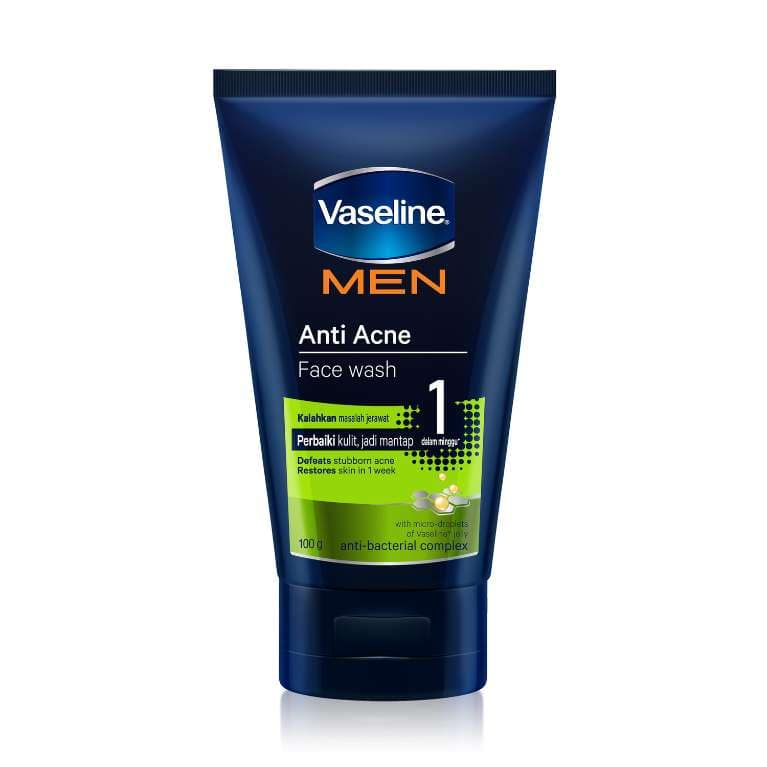 Vaseline® Men Face Anti-acne Face Wash 100g