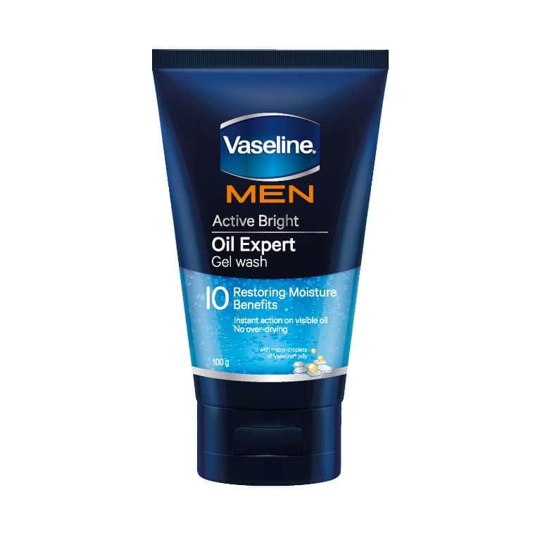 Vaseline® Men Active Bright Oil Expert Gel Wash 50g