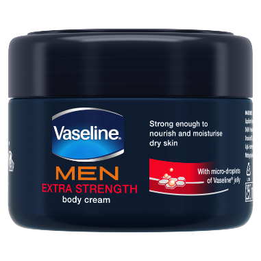 Vaseline Men Extra Strength Repairing Moisture Body Cream