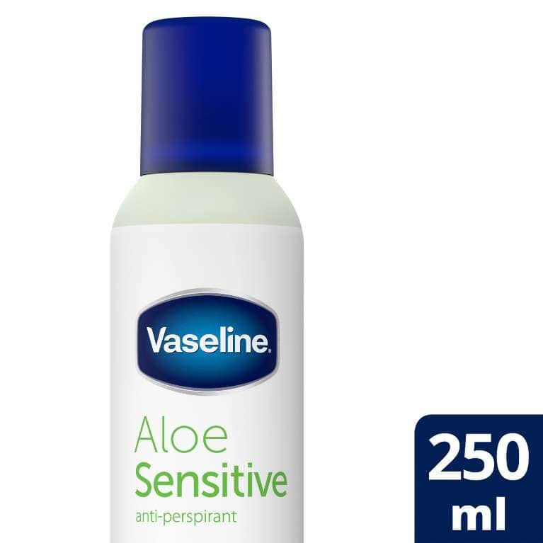 Vaseline Aloe Sensitive Anti-Perspirant 250 ML