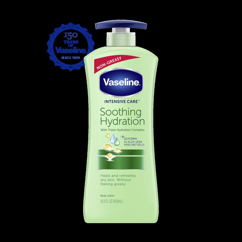 Vaseline Intensive Care Aloe Soothe Lotion Dove Go Fresh Revive Body Wash Pump 550 Ml 203 Oz Fop