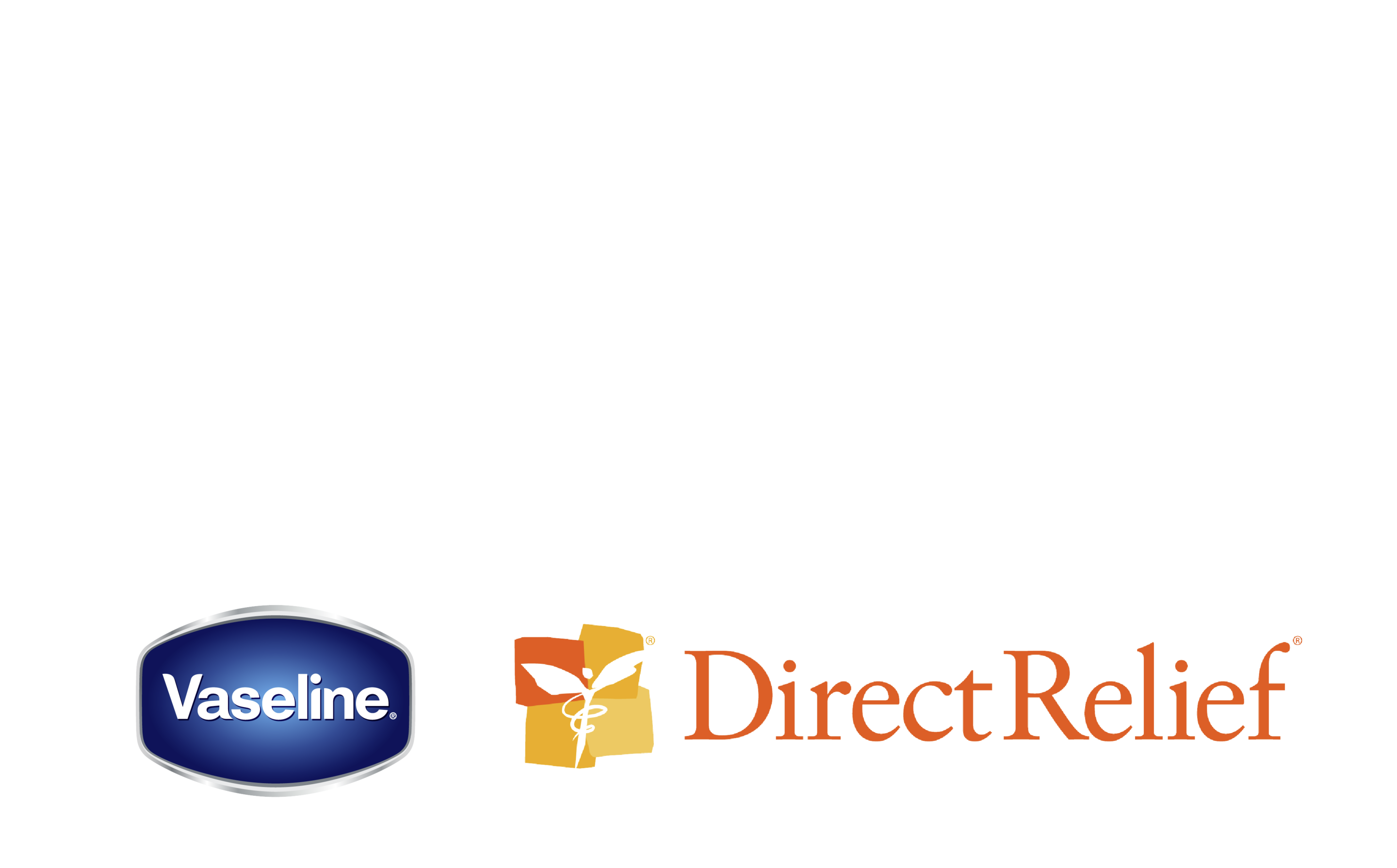 The Vaseline healing project logotype