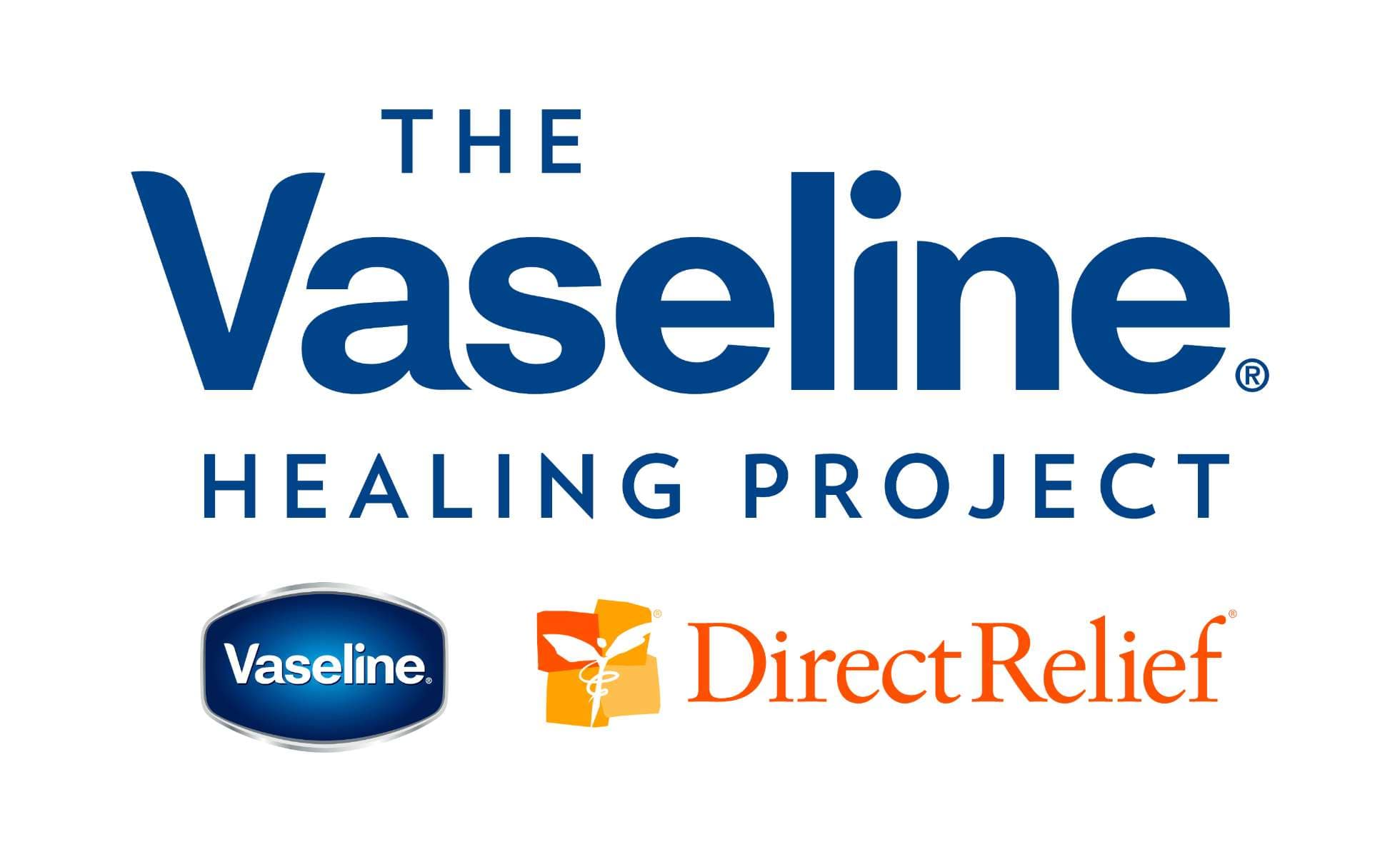 Vaseline Healing Project Logo Large