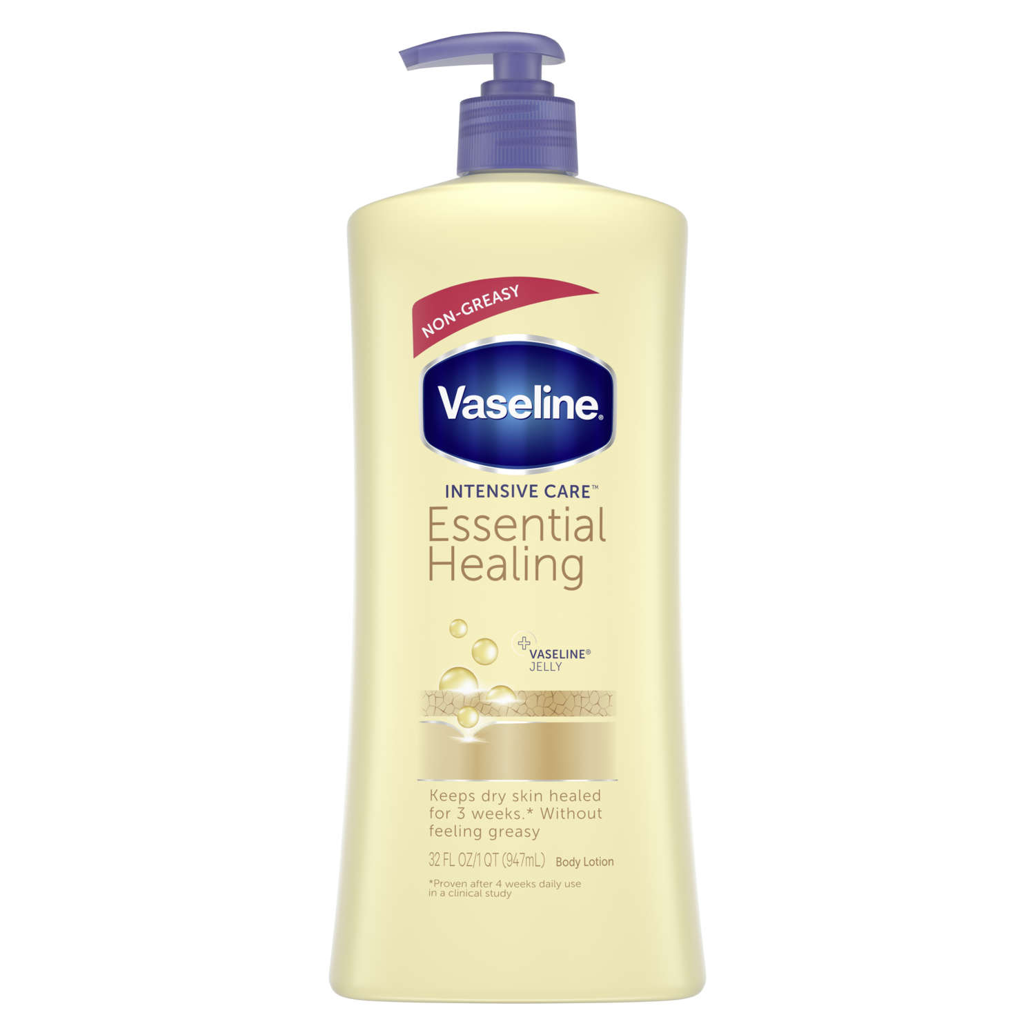 Lotion: Vaseline® Intensive Care™ Essential Healing Lotion