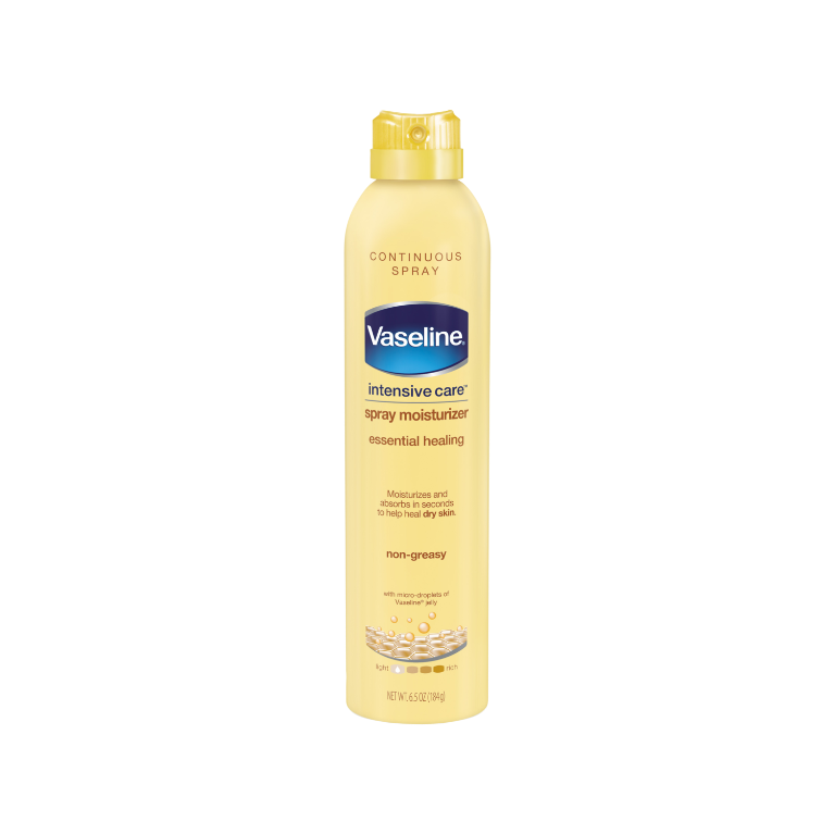 Vaseline® Intensive Care™ Essential Healing Spray Lotion 6.5 oz FOP