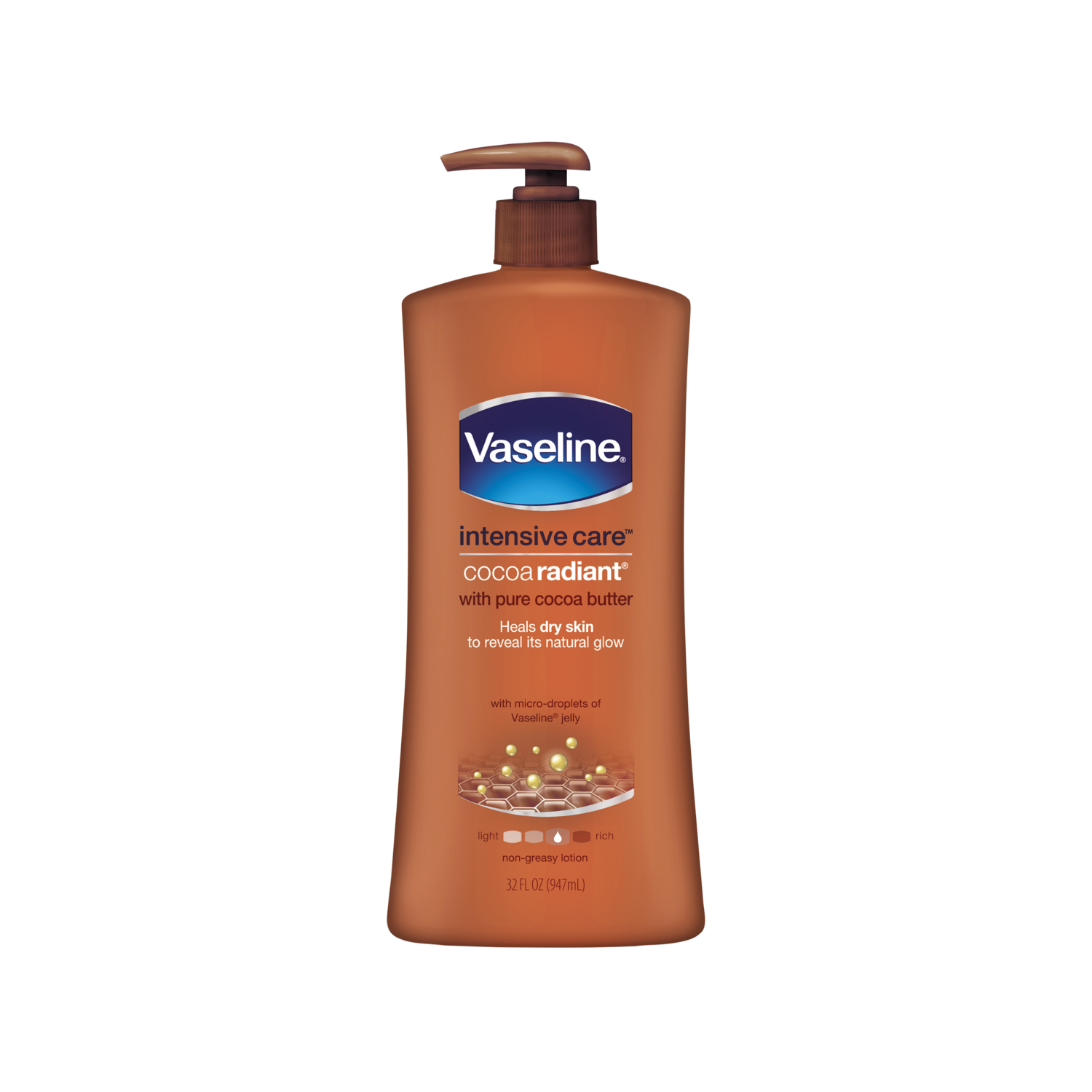 Lotion: Vaseline® Intensive Care™ Cocoa Radiant Lotion