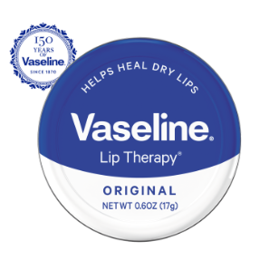 Vaseline Lip Therapy Original Lip Balm Tin 0.6 oz