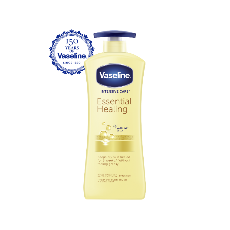 Vaseline® Intensive Care™ Body Lotion Essential Healing 20.3 oz FOP