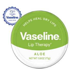 Vaseline Lip Therapy Aloe Lip Balm Tin 0.6 oz
