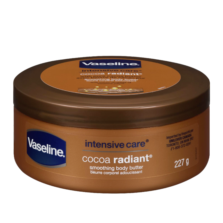 Vaseline® Body Butter Lotion Cocoa Radiant 8 oz FOP