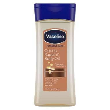 Vaseline® Intensive Care™ Body Gel Oil Cocoa Radiant 6.8 oz FOP