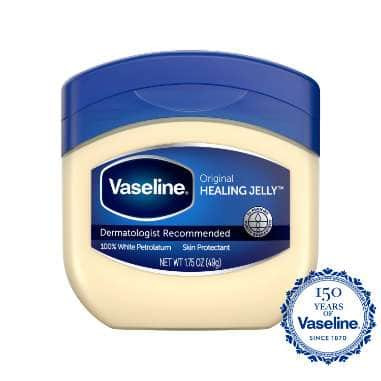 Vaseline Healing Jelly Original 1.75 oz FOP Pack
