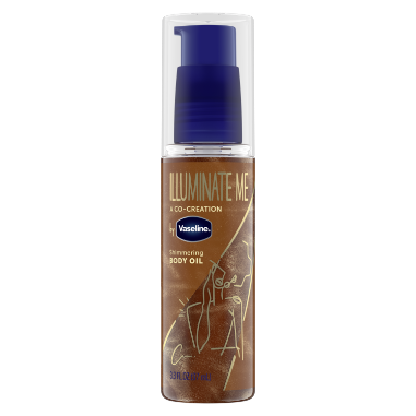 Vaseline Shimmering Body Oil 3.3 fl oz