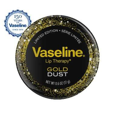 Vaseline® Lip Therapy® Gold Dust Tin 0.6oz